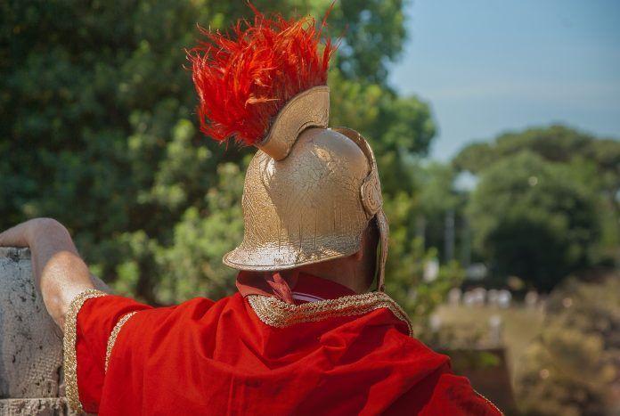 saludo romano